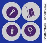 shop icon. shop vector icons... | Shutterstock .eps vector #1209097369