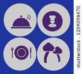 meal icon. meal vector icons... | Shutterstock .eps vector #1209098470