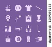 kitchen icon. kitchen vector... | Shutterstock .eps vector #1209099133