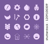 macro icon. macro vector icons... | Shutterstock .eps vector #1209100309