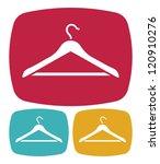 hanger  icon | Shutterstock .eps vector #120910276