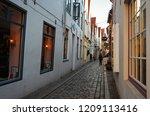 germany. bremen. ancient houses ... | Shutterstock . vector #1209113416