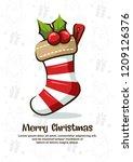 Greeting Card Christmas Socks...