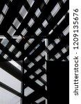 industrial architecture... | Shutterstock . vector #1209135676