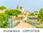 Palais Des Papes And Cathedral...