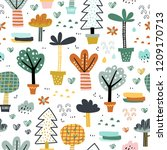 forest. jungle tropical...   Shutterstock .eps vector #1209170713