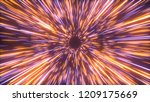 abstract bright creative cosmic ...   Shutterstock . vector #1209175669