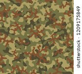 camouflage pattern. seamless....   Shutterstock .eps vector #1209175849