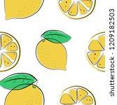 seamless vector illustration... | Shutterstock .eps vector #1209182503