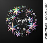 "calligraphic ""merry christmas""... 