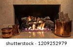 An Elegant Gas Fireplace...