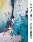blue navy indigo art abstract... | Shutterstock . vector #1209257110