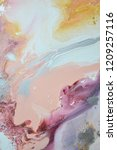 blue navy indigo art abstract... | Shutterstock . vector #1209257116