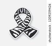 vector illustration. ribbon... | Shutterstock .eps vector #1209259426