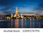 wat arun  the famous landmark... | Shutterstock . vector #1209270793