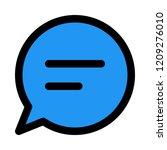 talk bubble chat   Shutterstock .eps vector #1209276010