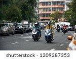 traffic around phlub phla chai... | Shutterstock . vector #1209287353