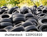 A Waste Heap Of Old Tyres For...