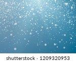 seasonal winter holiday... | Shutterstock .eps vector #1209320953