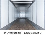 Interior View Of Empty Semi...