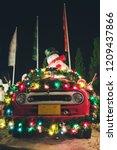 christmas decorations light... | Shutterstock . vector #1209437866