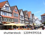 historic downtown in rinteln ... | Shutterstock . vector #1209459316
