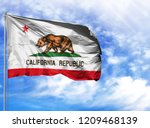 flag state of california on a...   Shutterstock . vector #1209468139