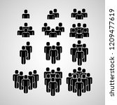 people group icons    Shutterstock .eps vector #1209477619