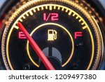 close up view of an empty fuel... | Shutterstock . vector #1209497380
