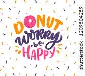 hand drawn lettering phrase... | Shutterstock .eps vector #1209504259