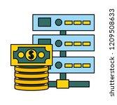 fin tech business   Shutterstock .eps vector #1209508633