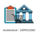 fin tech business   Shutterstock .eps vector #1209511060