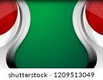 national flag of united arab... | Shutterstock .eps vector #1209513049