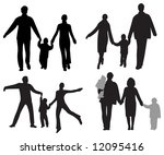 family vector | Shutterstock .eps vector #12095416