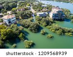 mansions and luxury fancy homes ... | Shutterstock . vector #1209568939