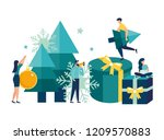 vector illustration small... | Shutterstock .eps vector #1209570883