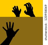 grabbing hand   Shutterstock .eps vector #120958069