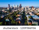 denver colorado downtown... | Shutterstock . vector #1209586936