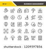 vector set of business... | Shutterstock .eps vector #1209597856