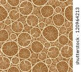 Wood Logs Cuts Seamless Pattern ...