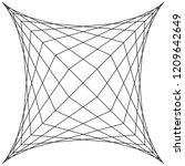 square spider web  grid trap ...   Shutterstock .eps vector #1209642649