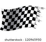 racing flag | Shutterstock .eps vector #120965950