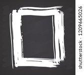 frame or text box  grunge... | Shutterstock .eps vector #1209665026