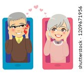 smartphone concept illustration ... | Shutterstock .eps vector #1209671956