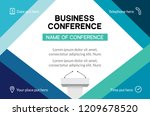 business conference simple... | Shutterstock .eps vector #1209678520