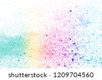 abstract powder splatted... | Shutterstock . vector #1209704560