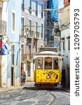 lisbon  portugal   july 30 ... | Shutterstock . vector #1209705793