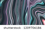 marble ink colorful. purple... | Shutterstock . vector #1209706186