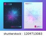 modern vector template for... | Shutterstock .eps vector #1209713083