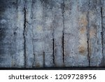 a concrete wall with multiple... | Shutterstock . vector #1209728956